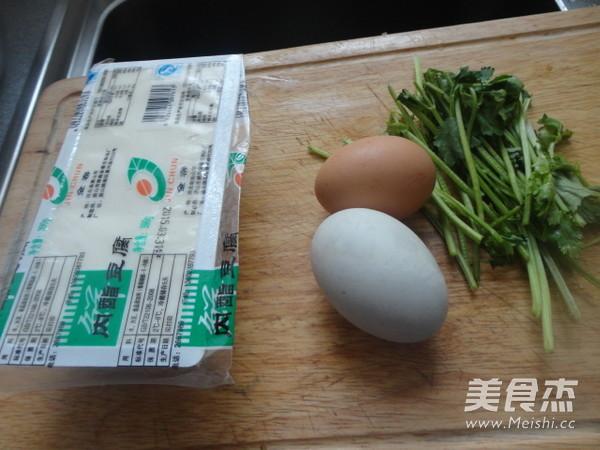 双蛋拌豆腐的做法图解