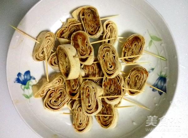 豆腐皮卷怎么炒
