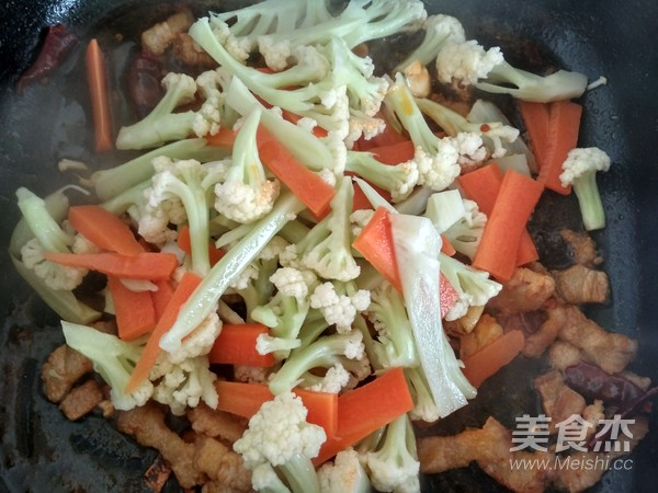 干煸菜花怎么煮