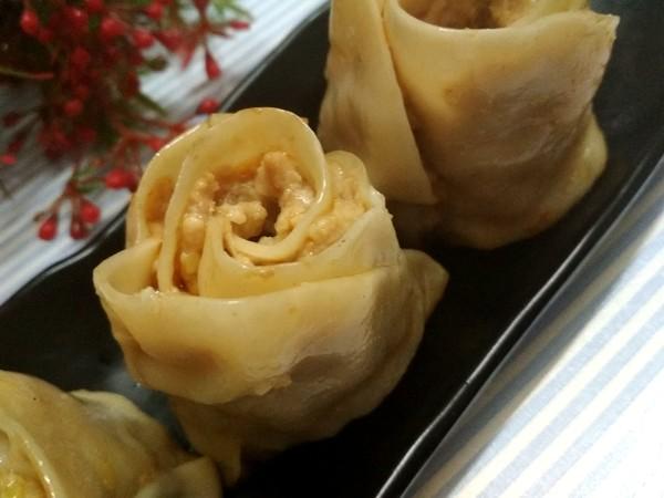 玫瑰花饺子怎么炖