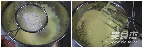 牦牛奶蛋黄夹心小饼的做法图解