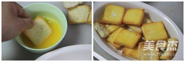 黄金面包布丁的家常做法