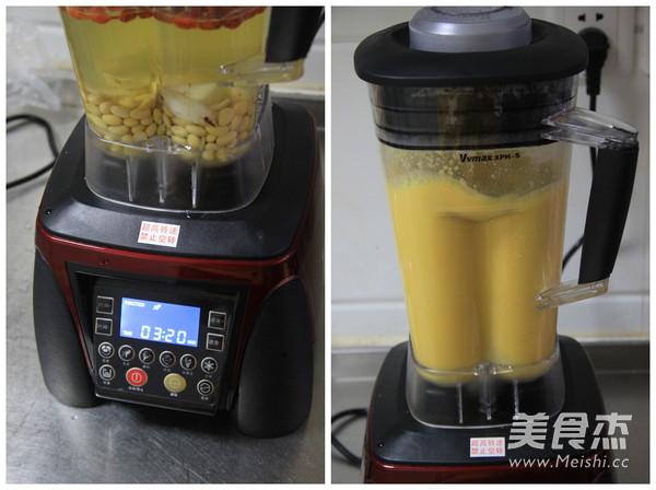 百合枸杞豆浆的做法图解
