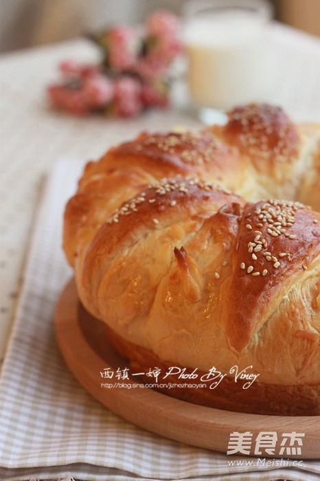 皇冠大面包怎样做