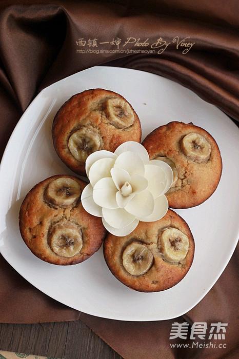 素食香蕉小蛋糕怎样做