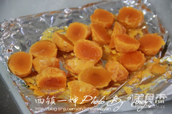 木糖醇版蛋黄酥怎么做