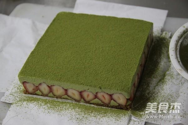 抹茶冻芝士蛋糕的制作