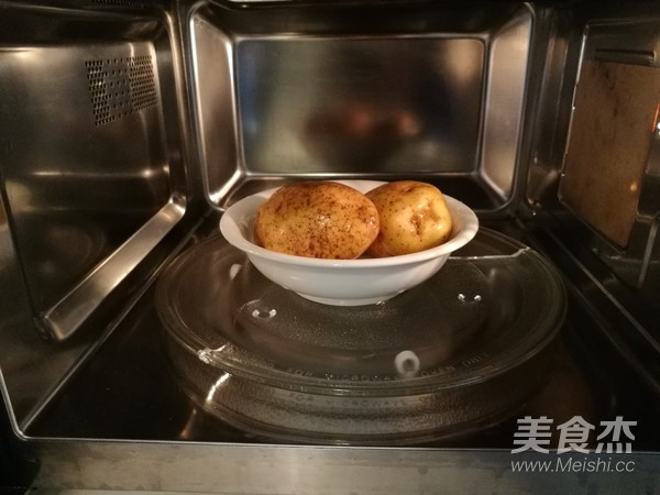 田园土豆饼的步骤