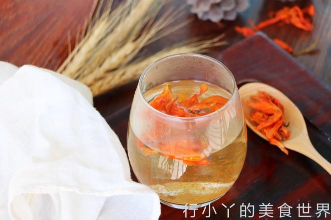 安神助眠的百合花茶的简单做法