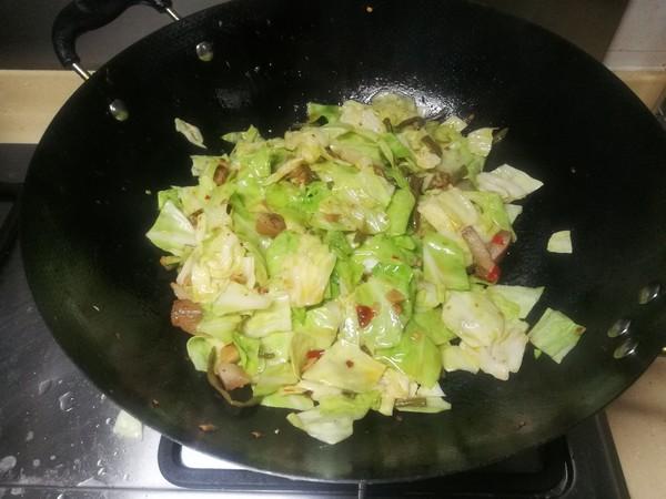 炒卷心菜怎么吃