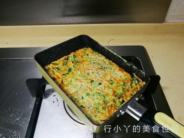 菠菜胡萝卜饼怎么吃