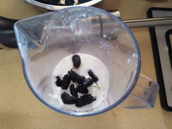 桑椹酸奶冰棍的做法图解