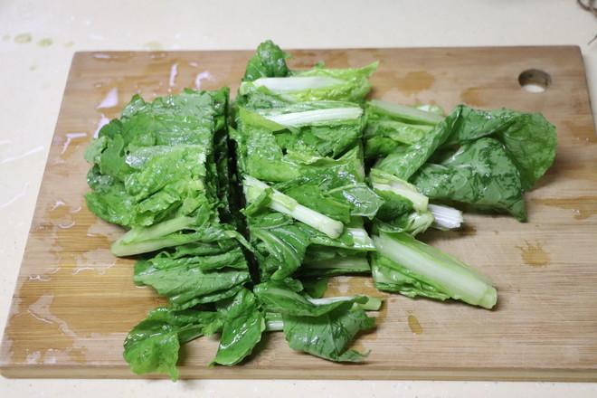 炝炒小白菜的做法图解