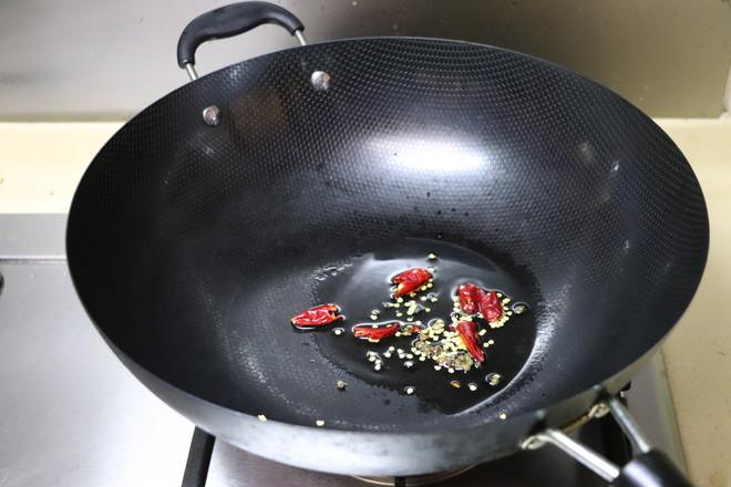 炝炒小白菜的家常做法