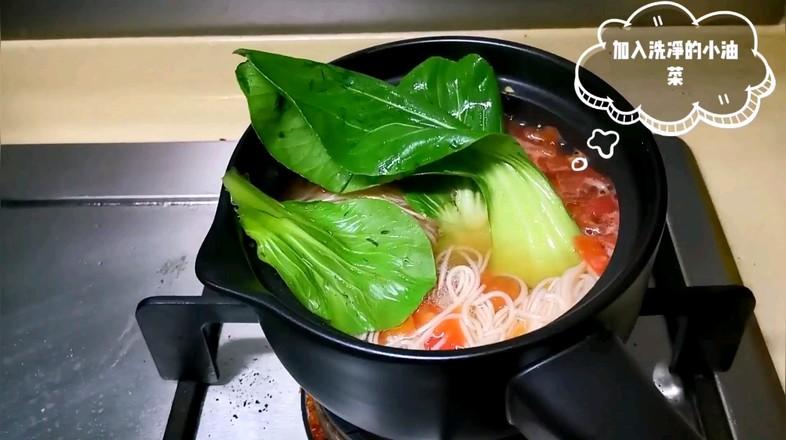 番茄酸汤面的家常做法