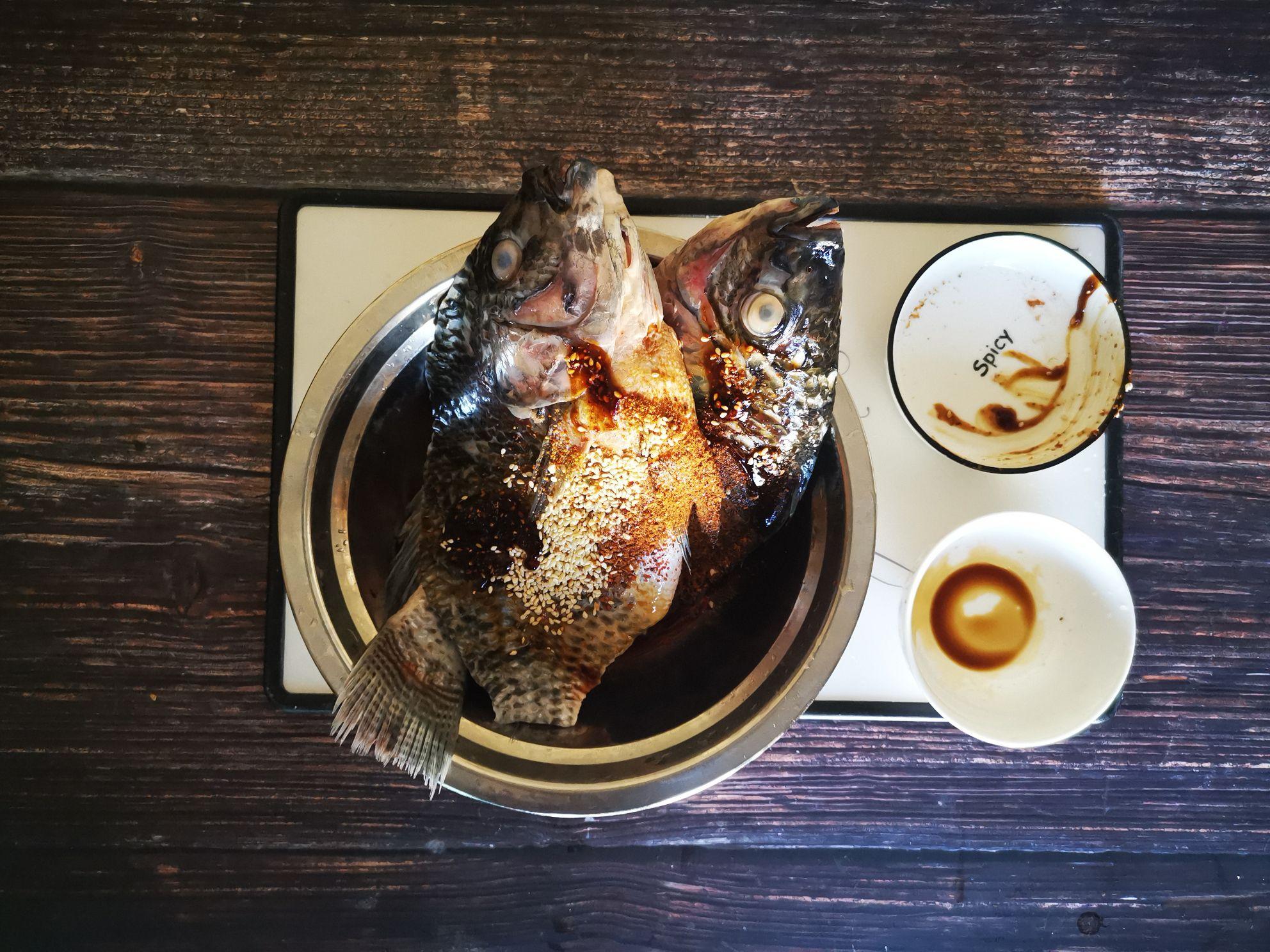 香烤罗非鱼的做法图解