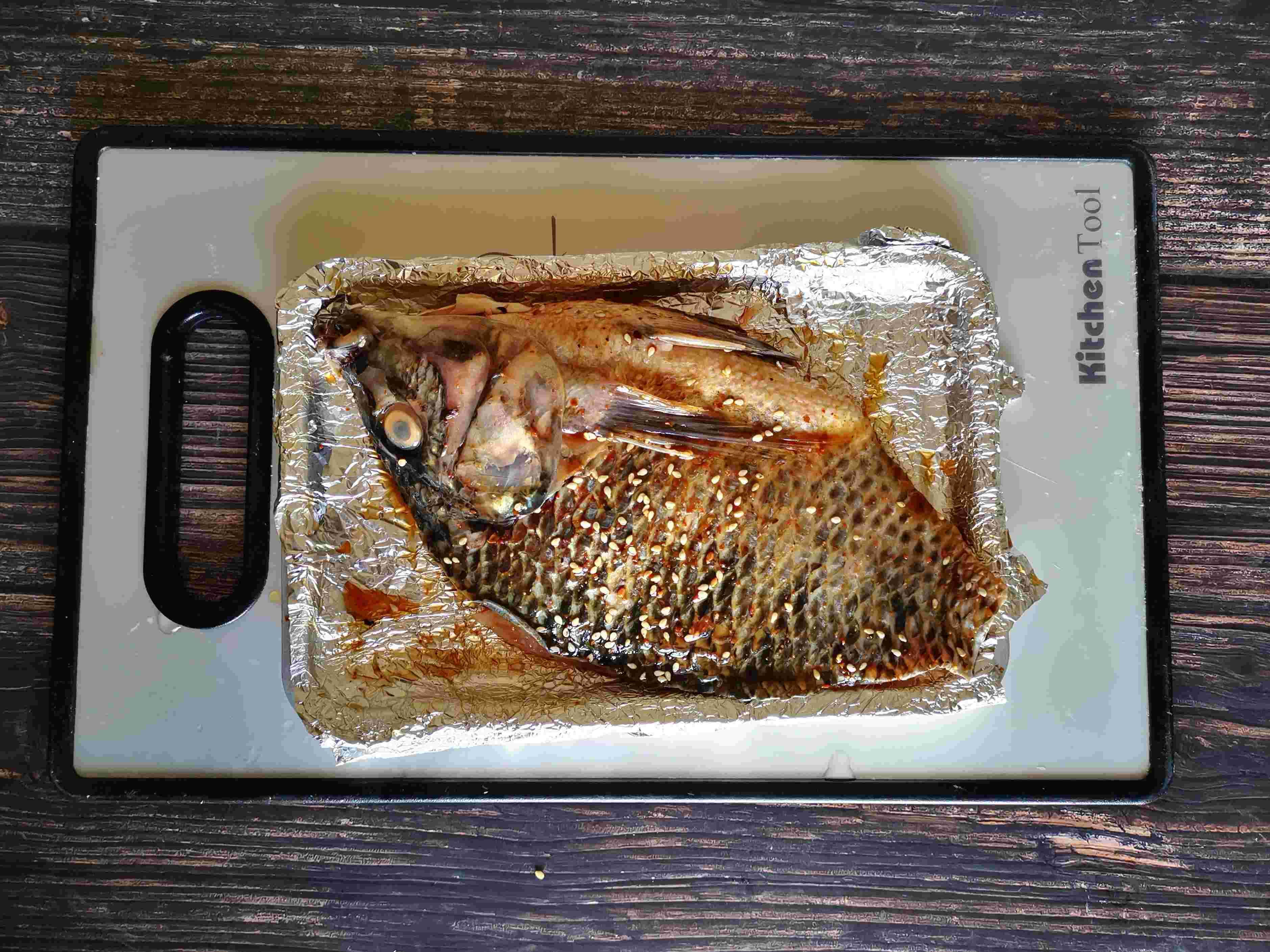 香烤罗非鱼的简单做法