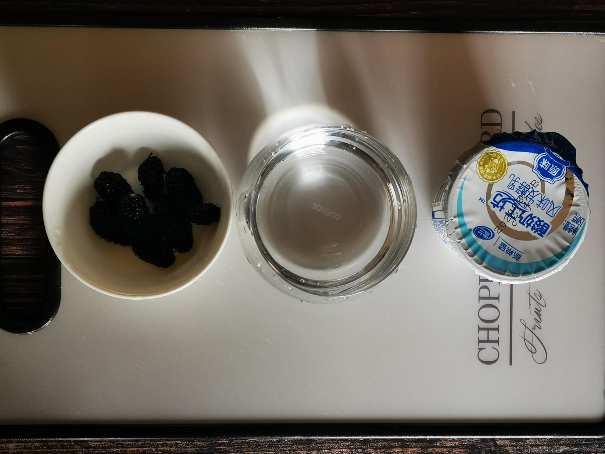 桑椹酸奶奶昔的做法大全