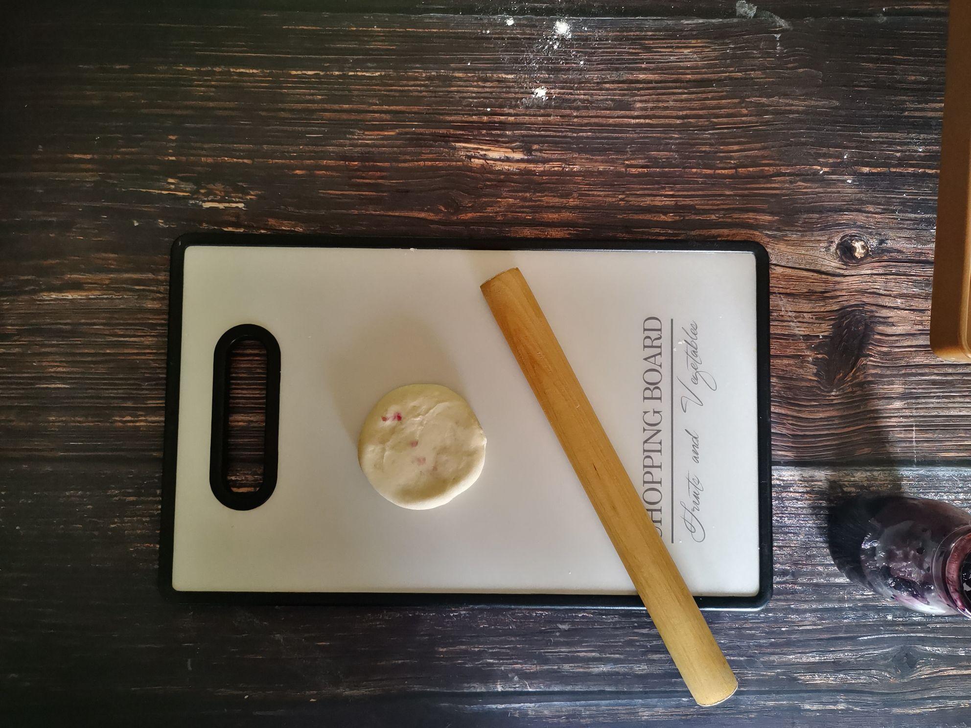 桑椹酸奶烤饼怎么做