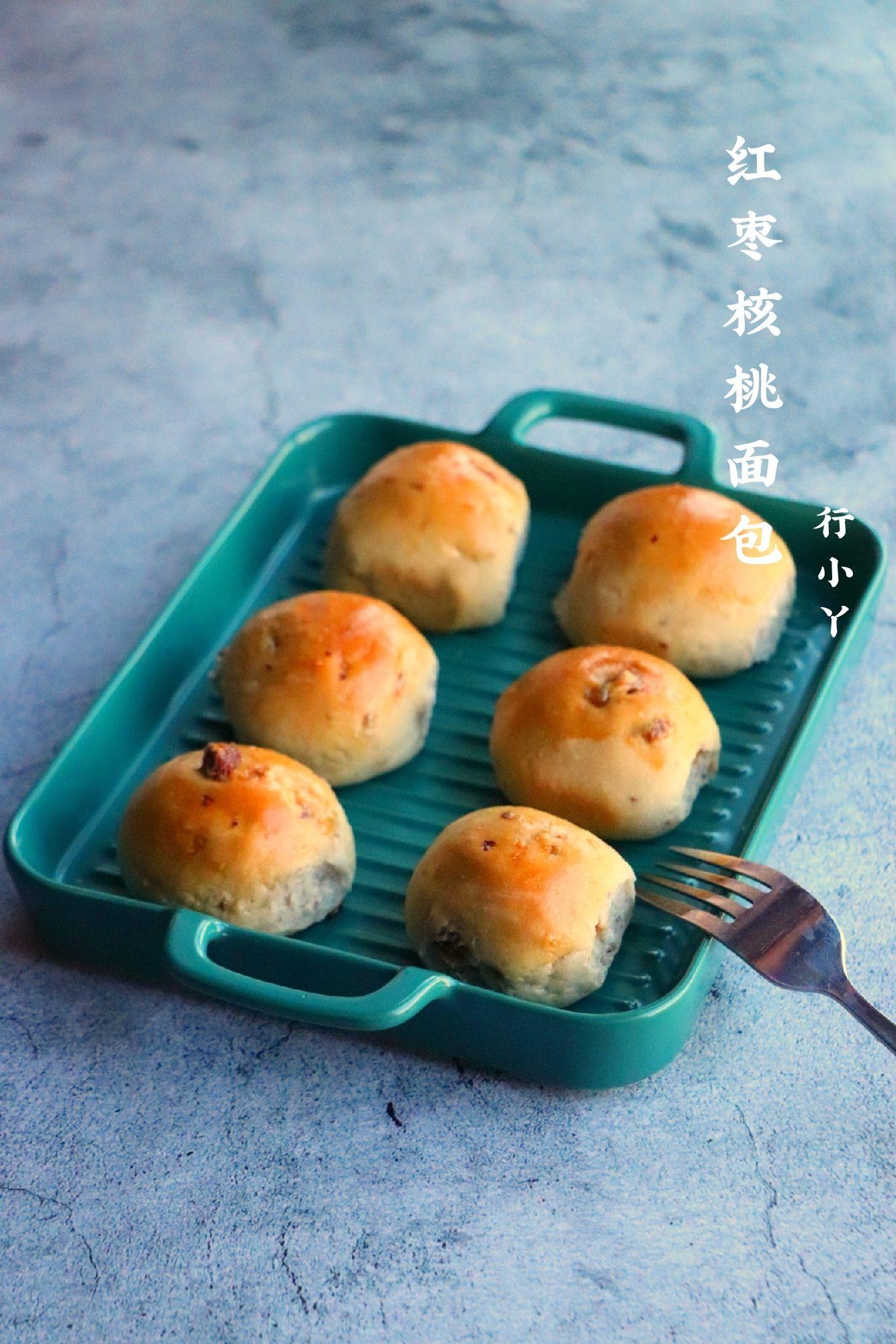 红枣核桃面包怎么炖