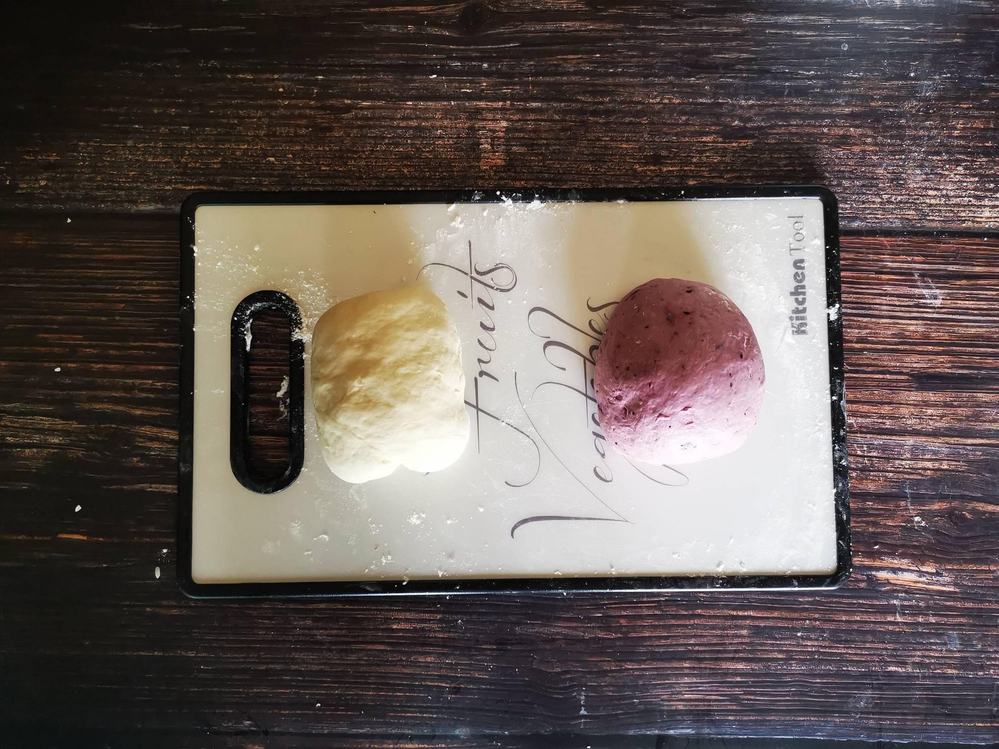 桑椹双色花卷怎么吃