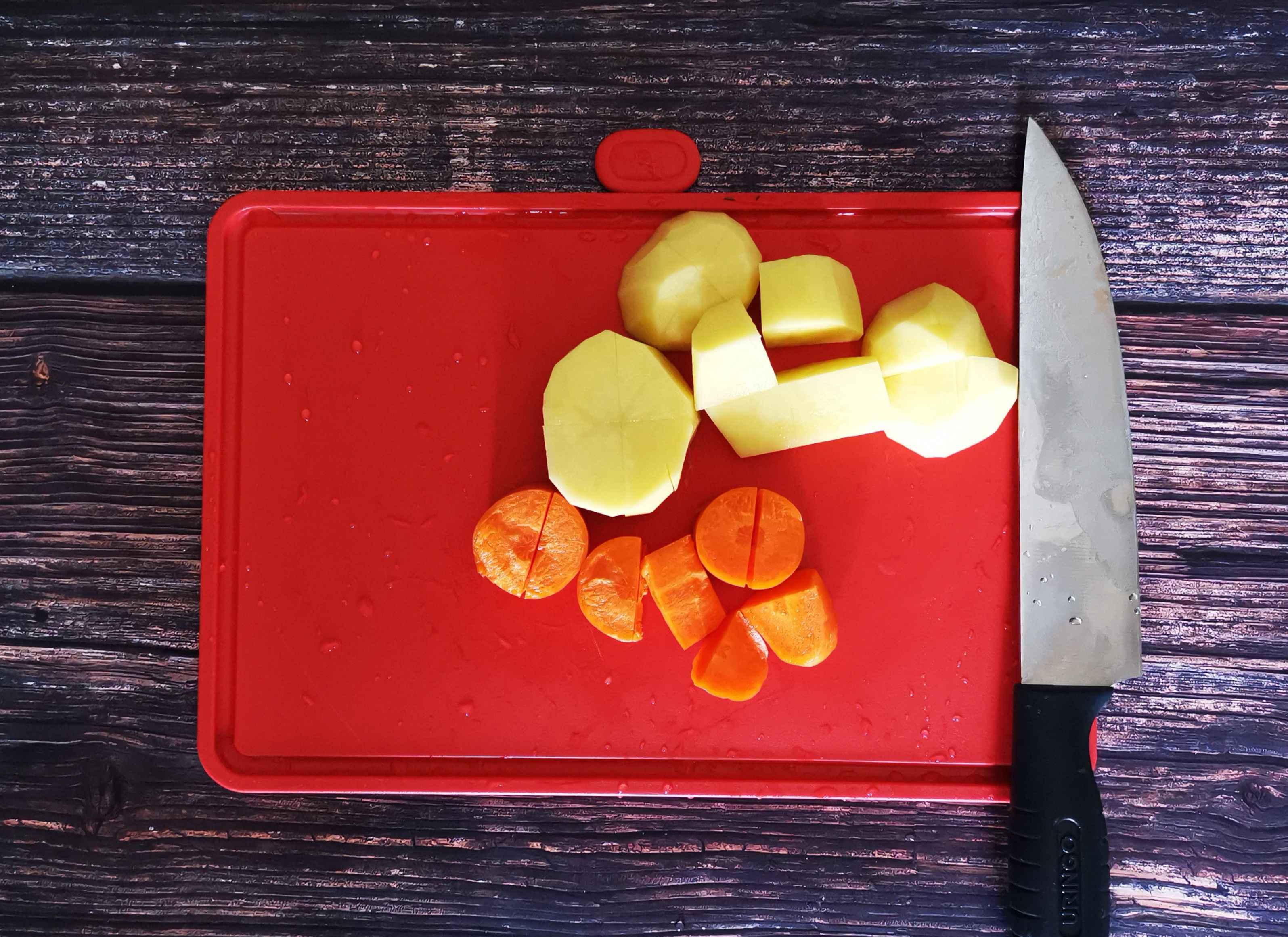 胡萝卜土豆泥的做法图解