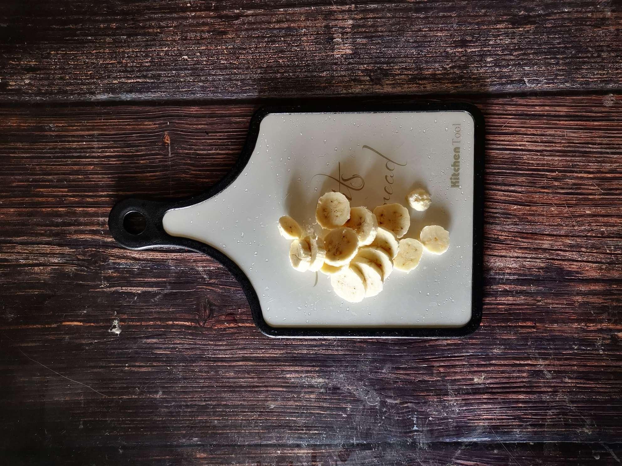 芭蕉酸奶拌麦片的做法图解