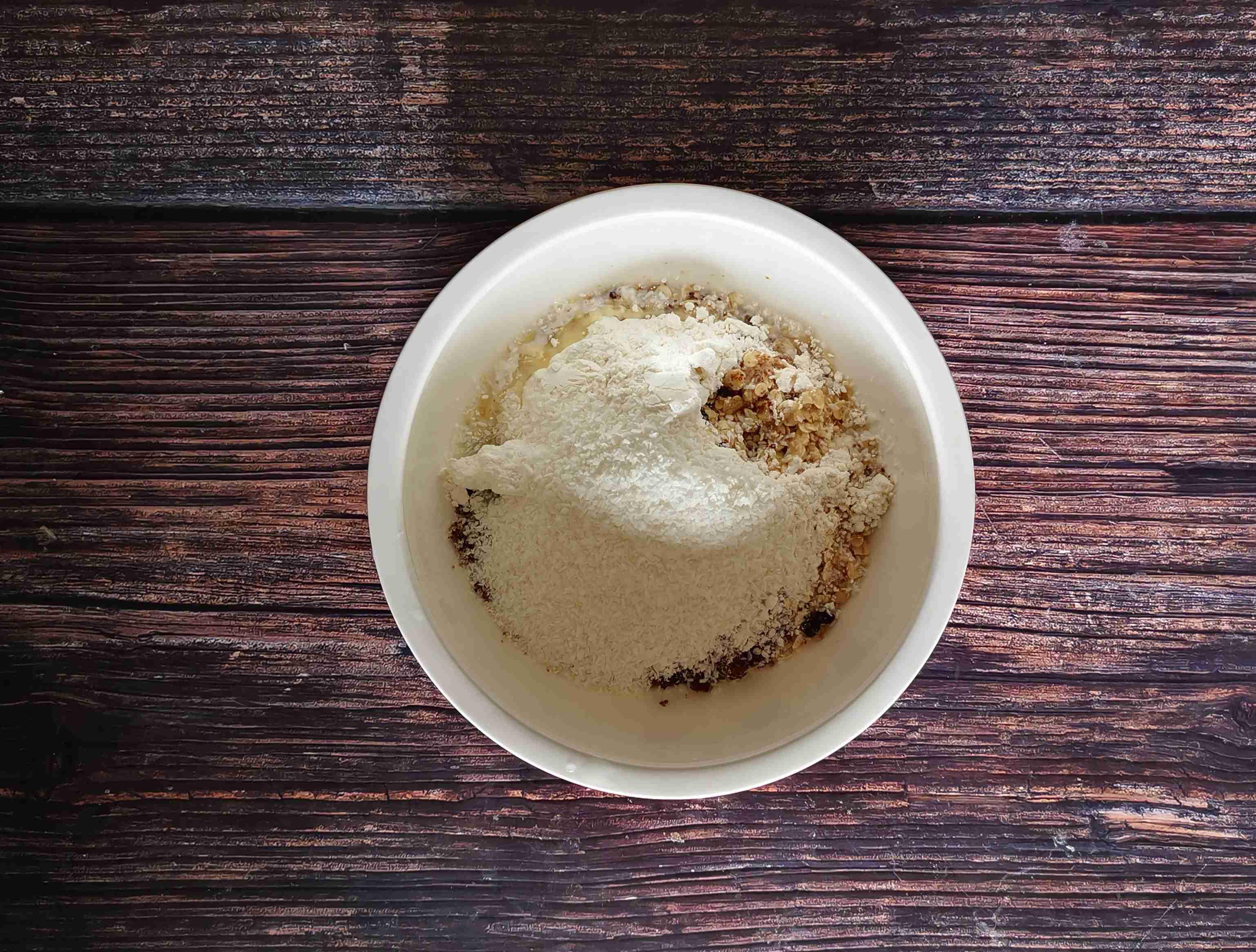 椰蓉燕麦饼干的做法图解