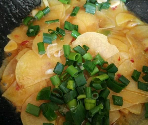 炒土豆片怎么吃