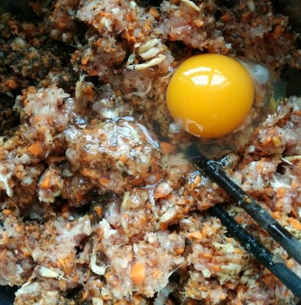 胡萝卜猪肉饺的简单做法