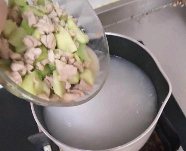 丝瓜粥怎么吃