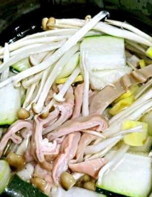猪肚汤怎么吃