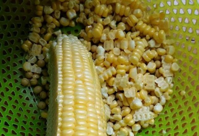 黄豆玉米汁的做法图解