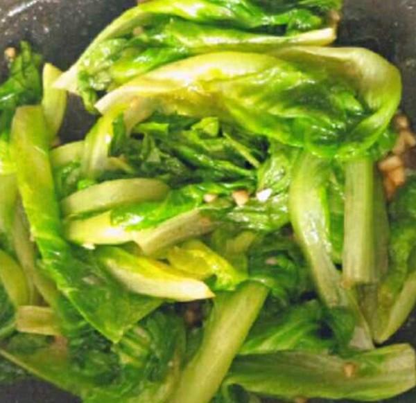 素炒生菜的简单做法