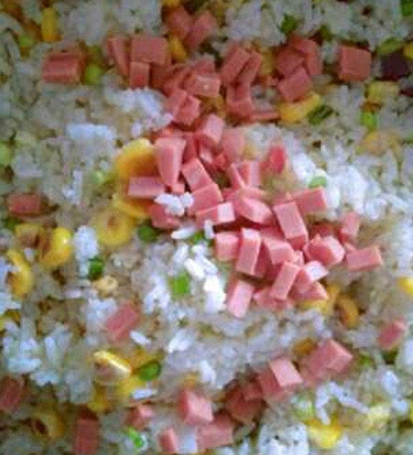 玉米炒饭怎么吃