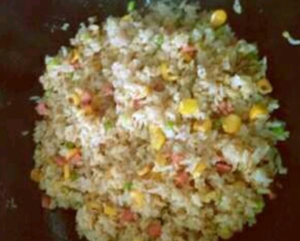 玉米炒饭怎么做
