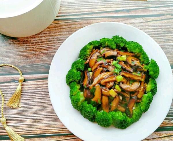 西兰花香菇怎么吃