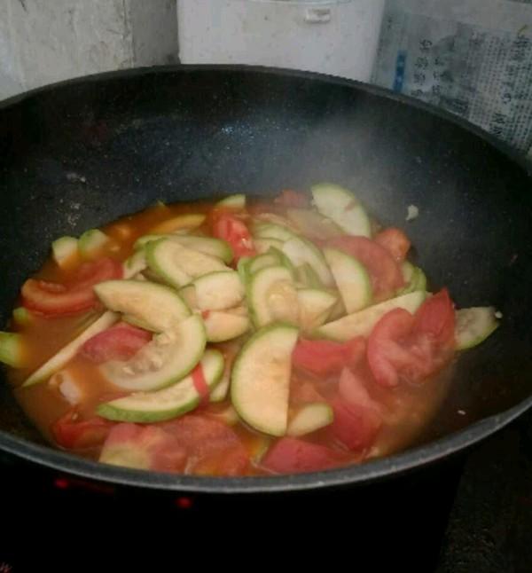 西红柿炒西葫芦的简单做法