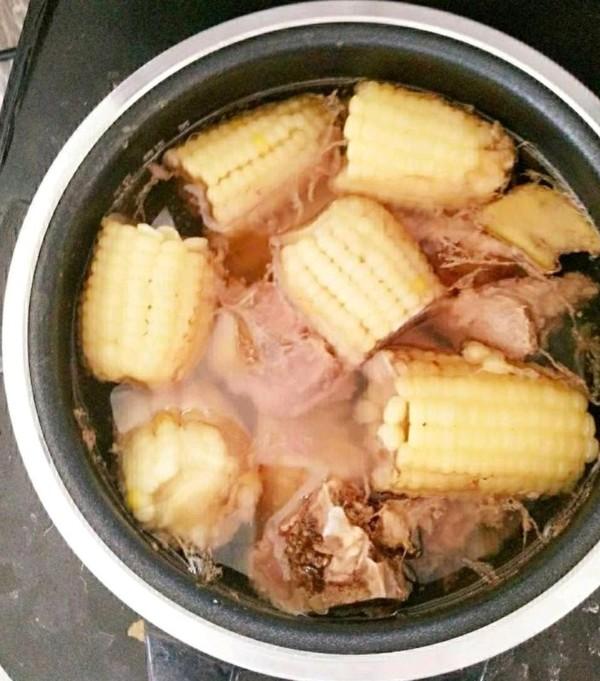 甜糯玉米排骨汤怎么吃