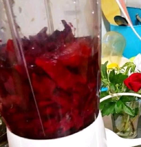甜菜汁的家常做法