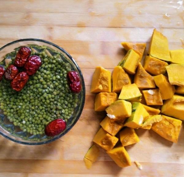 红糖南瓜绿豆水的做法大全