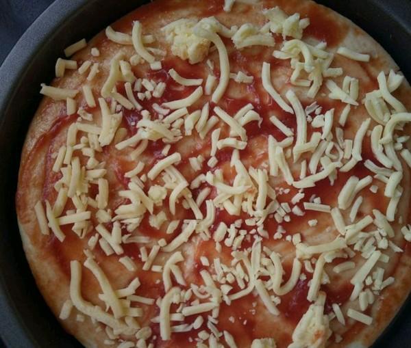 蔬菜披萨的做法图解