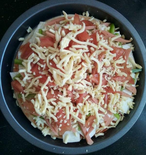 蔬菜披萨怎么吃