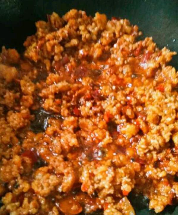 碎肉炒茄子的家常做法