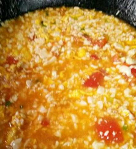 番茄豆腐的步骤