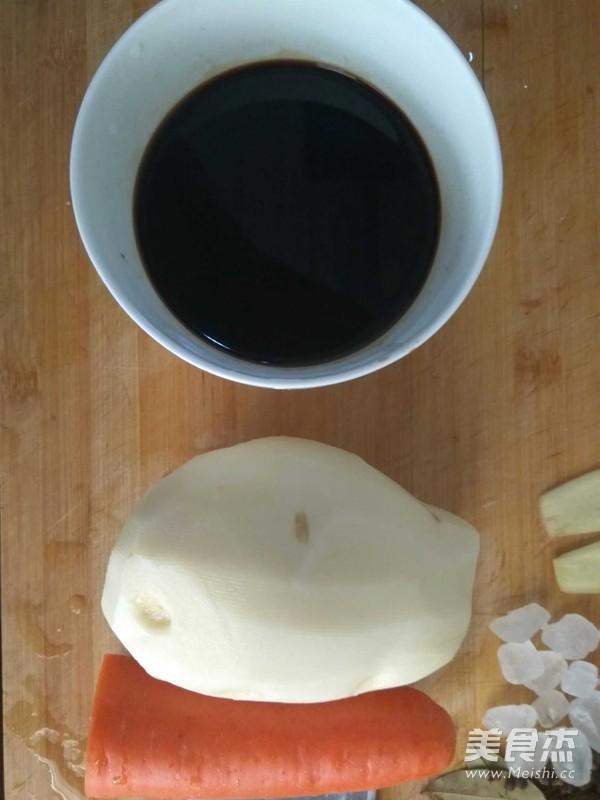 土豆胡萝卜炖牛腩家庭版的做法图解