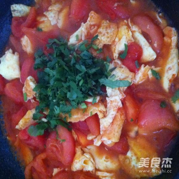 西红柿炒鸡蛋的简单做法