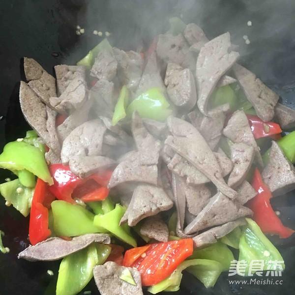 辣椒炒猪肝怎么吃