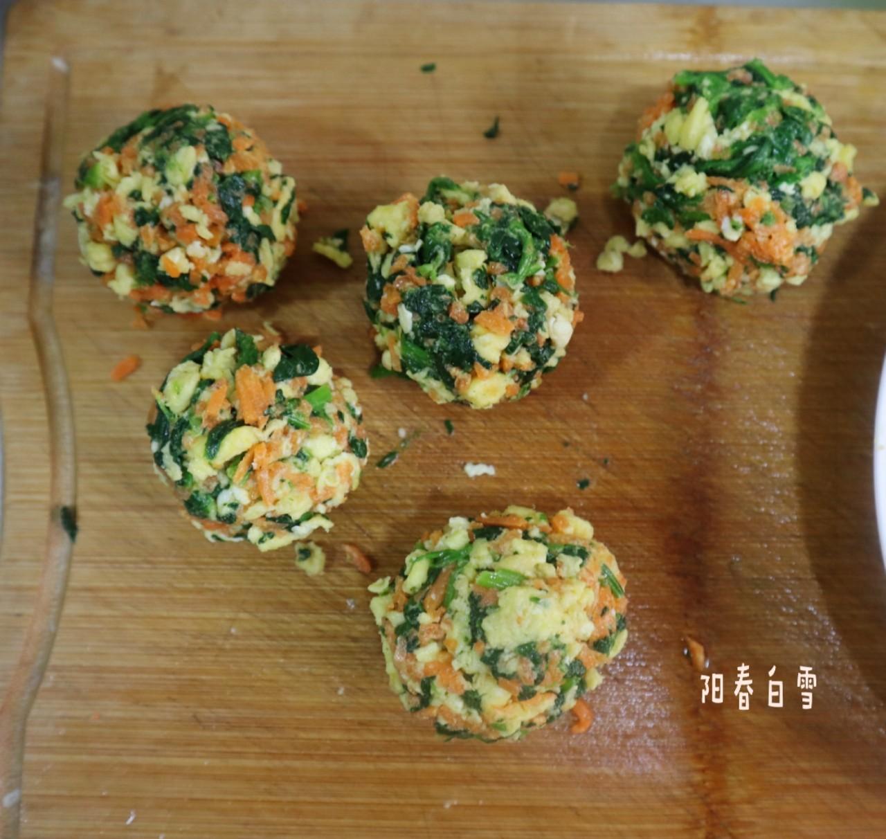 全麦面菜团子❗️低脂饱腹减肥主食代餐的家常做法