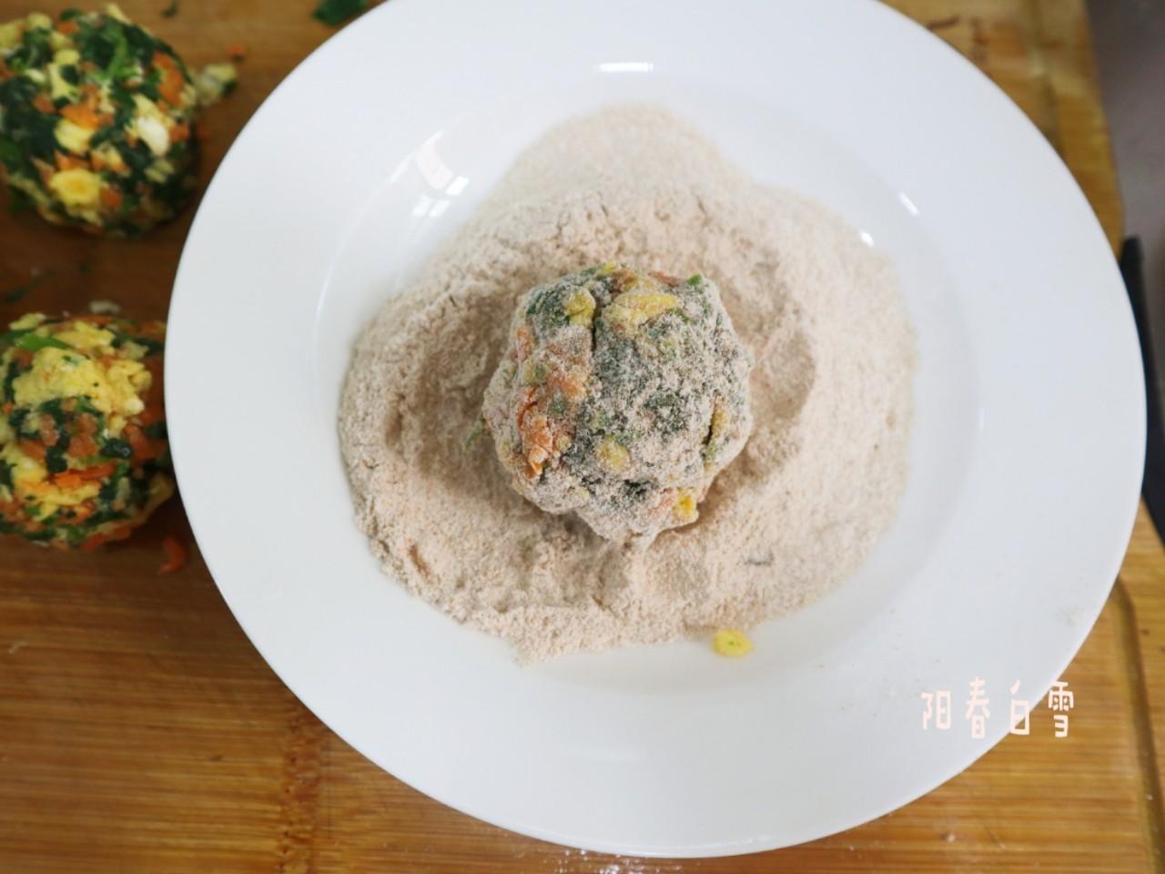 全麦面菜团子❗️低脂饱腹减肥主食代餐的简单做法